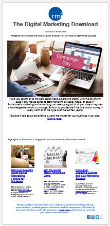 sign up for our marketing newsletter